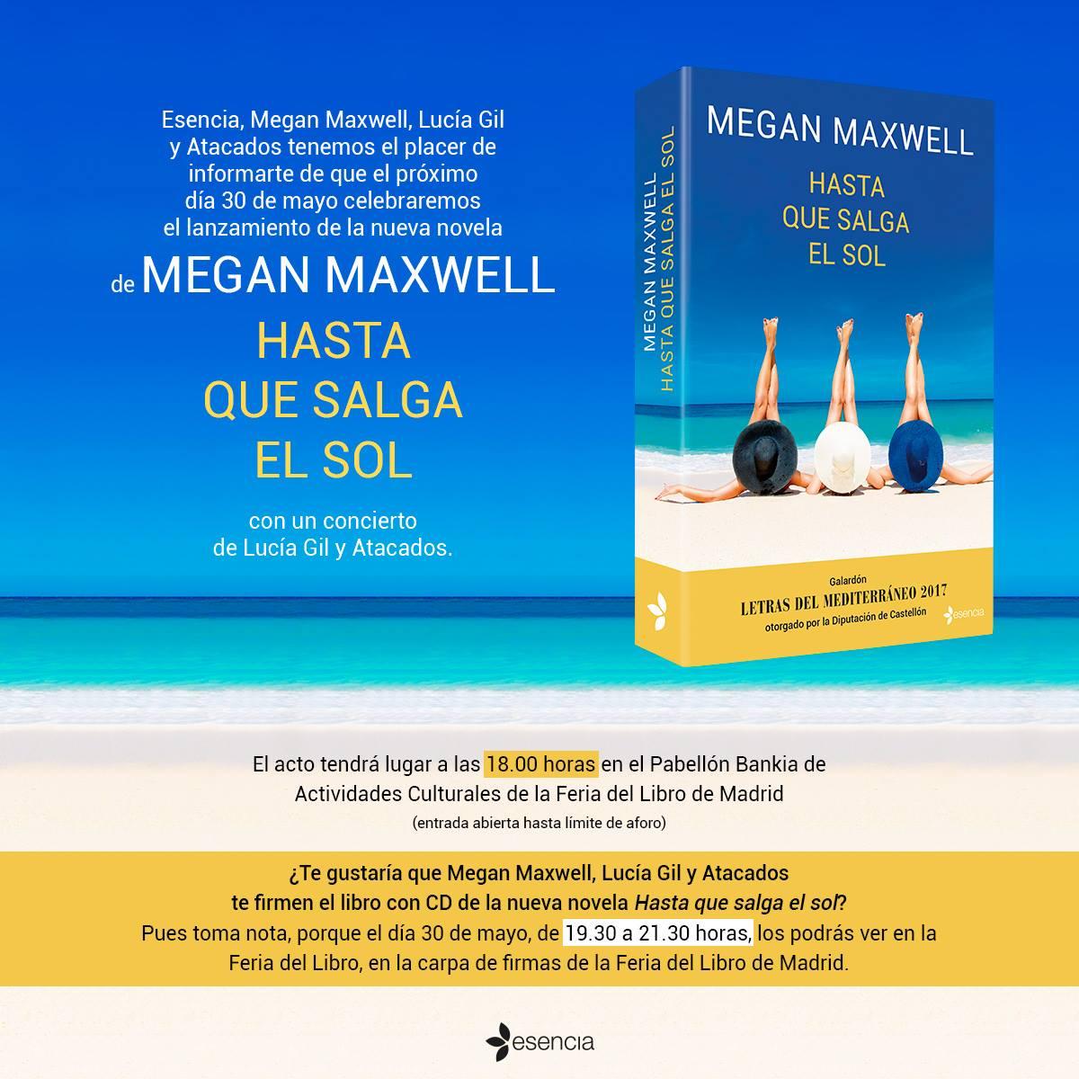 Presentación de la nueva novela Hasta que salga el sol ...