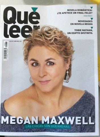 En la portada de la revista Qué Leer